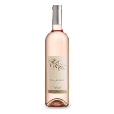 Vin rosé Cuvée des Oliviers bio - Château de Montfrin