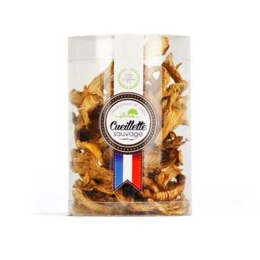 Dried Girolle Mushrooms