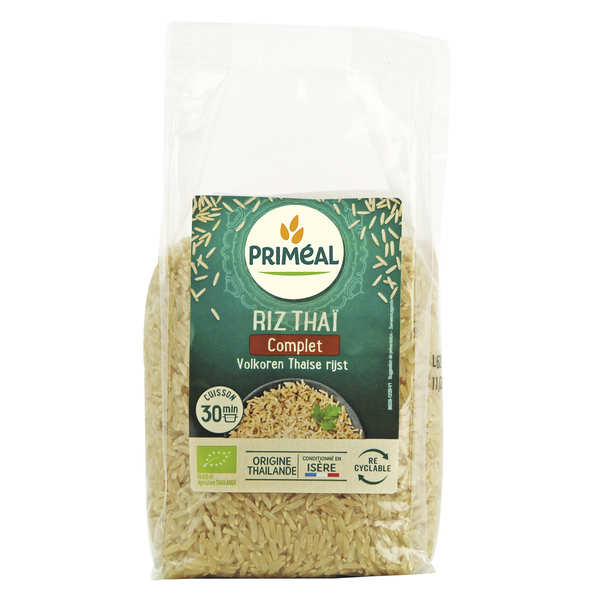 Organic whole Thai rice