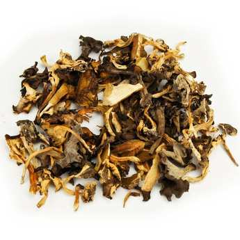 Champi Lozère - Dried Sylvestre Mushrooms Garniture (Boletus, Chanterelle and Trumpet Mushrooms)