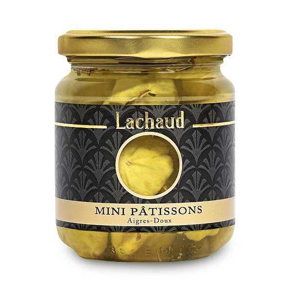 Mini pâtissons de France aigres-doux