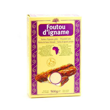 Racines - Farine d'igname pour foutou