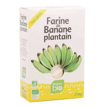 Farine de banane plantain Tropiway