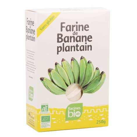Racines - Farine de banane plantain bio