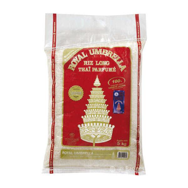 Riz thaï jasmin long parfumé