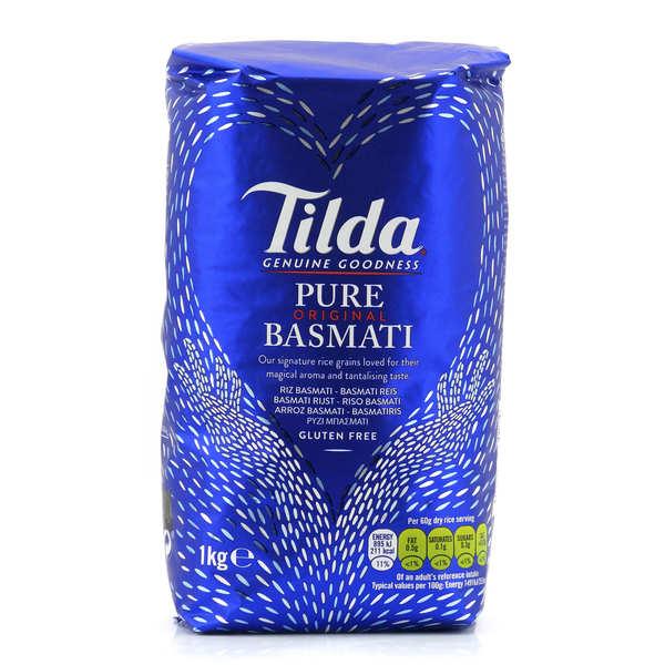 Riz long Basmati Tilda