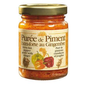 Racines - Purée de piment extra-forte au gingembre