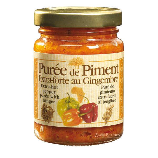 Purée de piment extra-forte au gingembre