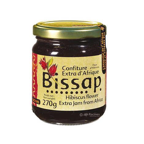 Racines - Confiture extra de bissap (hibiscus)