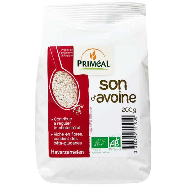 Organic oat bran bag