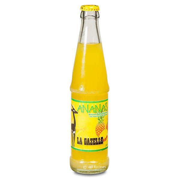 La Gazelle Ananas - Soda du Sénégal