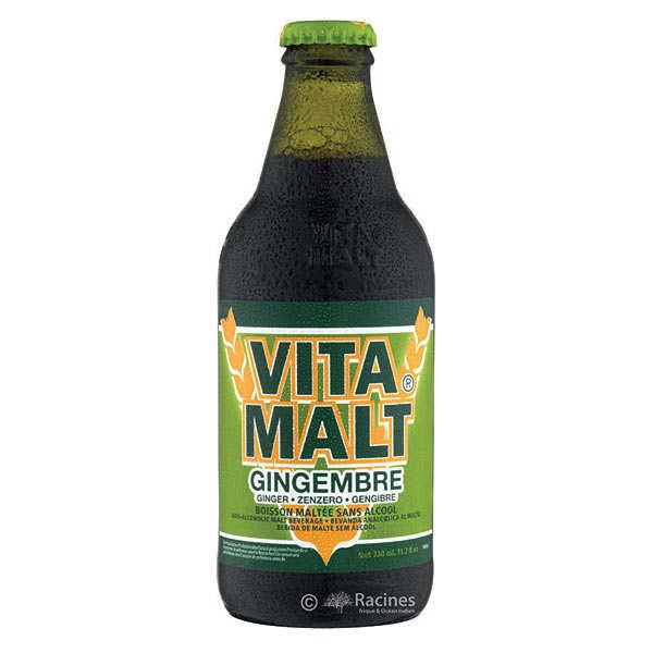 Bière Vitamalt au gingembre