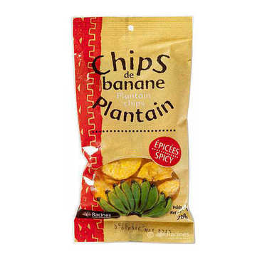 Spicy Plantain Crisps