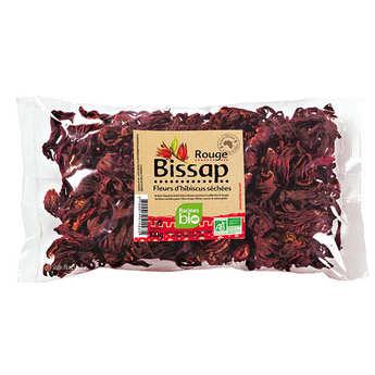 Racines - Fleurs de bissap rouge séchées bio