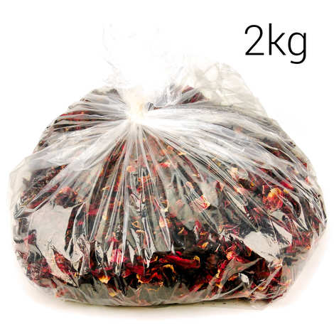 Racines - Organic Dried Red Bissap (Hibiscus) Flowers
