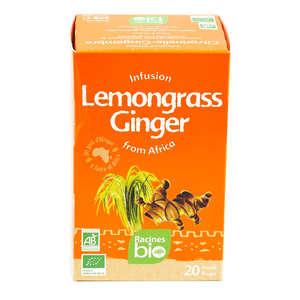 Racines - African Organic Lemongrass-Ginger Herbal Tea