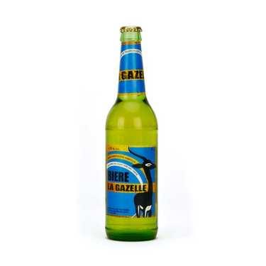 Bière Gazelle du Sénégal