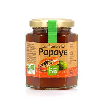 Racines - Confiture bio de papaye