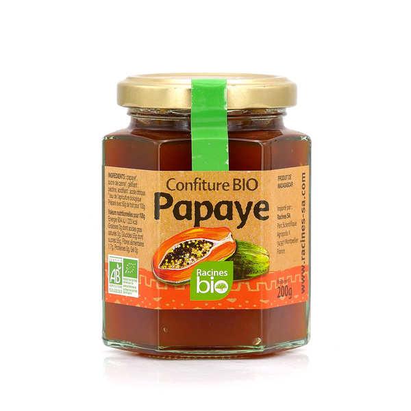 Confiture bio de papaye