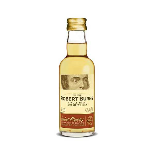 Whisky Arran Robert Burns - Mignonnette - 43%
