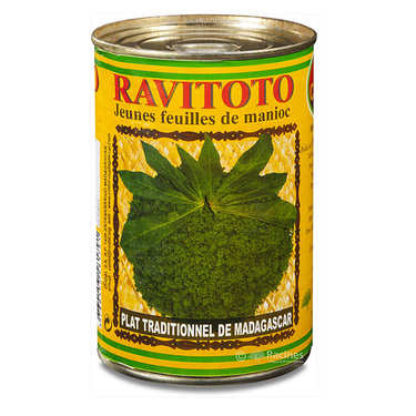 Ravitoto - Feuilles de manioc pilées