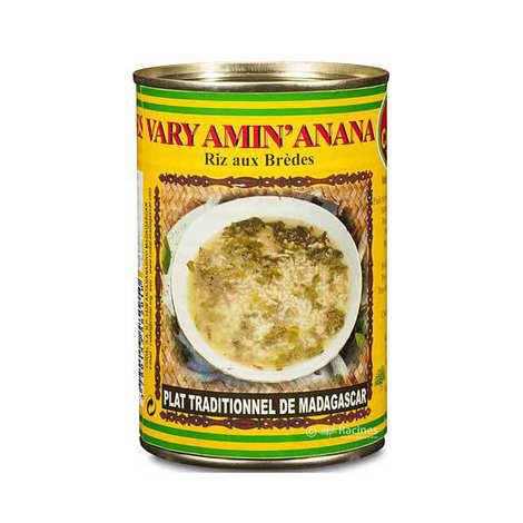 Codal - Vary Amin'Anana - Riz aux brèdes