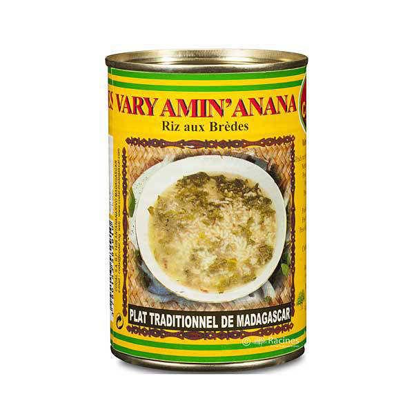 Vary Amin'Anana - Rice with Bredes