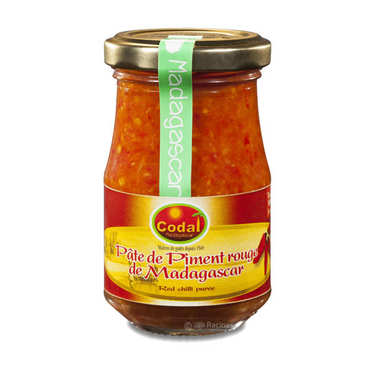 Pâte de piment rouge de Madagascar