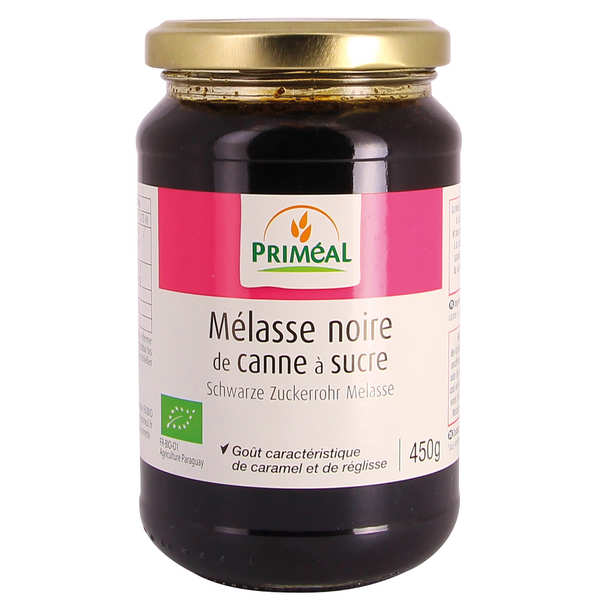 Black molasses from sugar cane organic