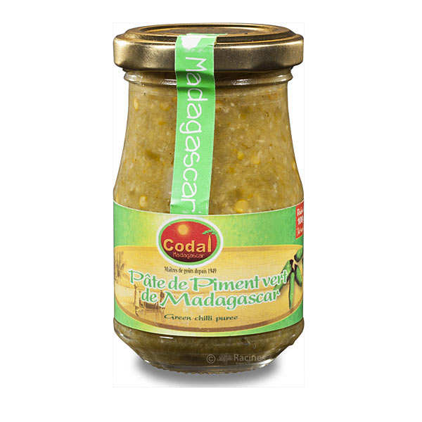 Green Pepper Paste from Madagascar