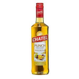 Chatel - Punch des îles traditionnel de l'ïle de la Réunion 40%