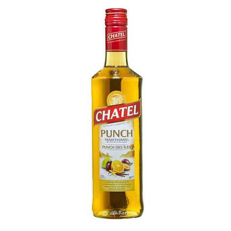 Chatel - Punch des îles traditionnel au rhum arrangé de l'île de la Réunion 40%