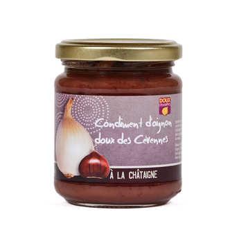 Origine Cévennes - Confit d'oignons doux des Cévennes à la châtaigne