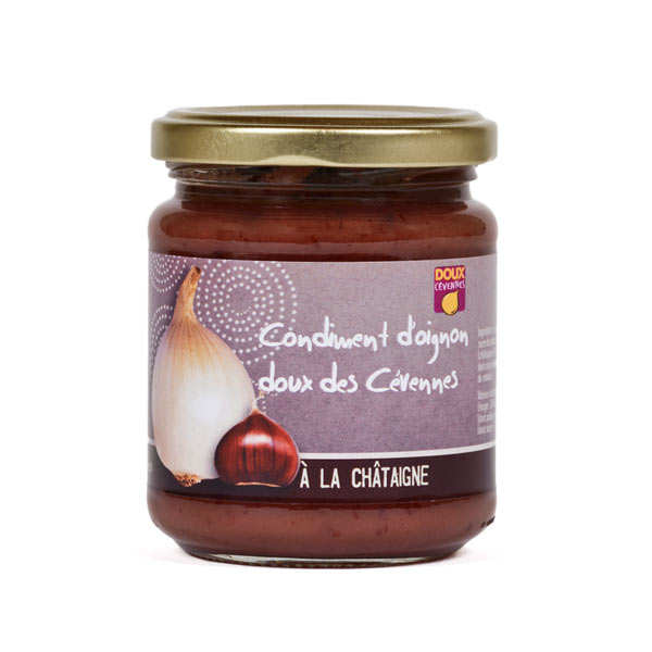 Confit of Sweet Onions from Cevennes With Chestnut