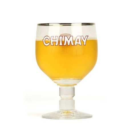 Abbaye ND de Scourmont - Verre à bière Chimay