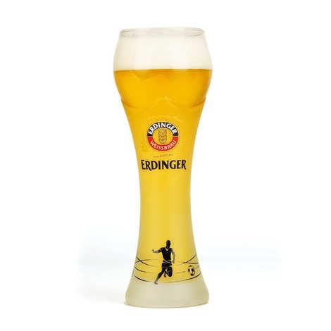 Erdinger - Verre à bière Erdinger édition football