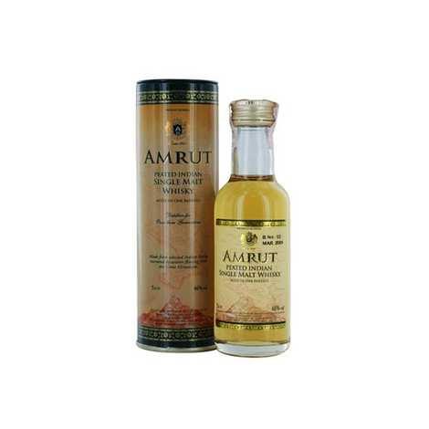 Amrut - Peated Amrut Indian single malt - Sample bottle - 46%
