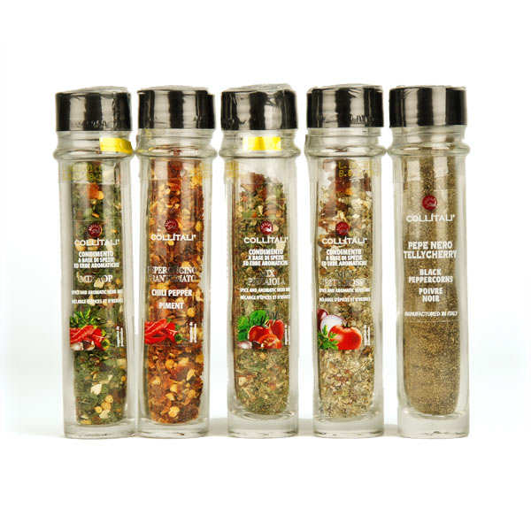 Refill of Italian pepper and spices (Several Flavours)