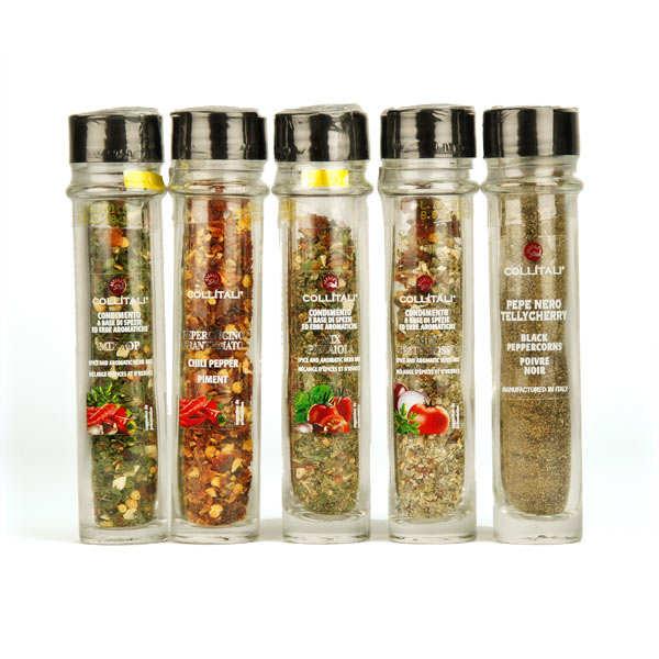 Recharges épices et poivres italiens (plusieurs aromatisations)