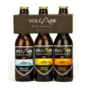 Brasserie Brivadoise - Bières Volcane - Bières artisanales Volcane - Blonde, blanche et ambrée
