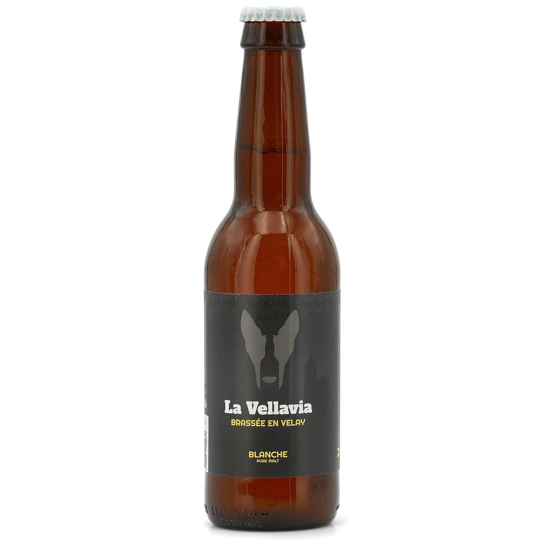 Bière blanche La Vellavia 5%