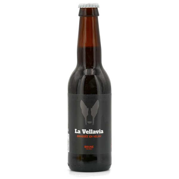 Bière brune La Vellavia 5%