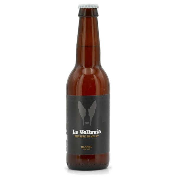 Bière blonde La Vellavia 5%