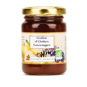 Oh ! Légumes oubliés - Organic wild nettle jam