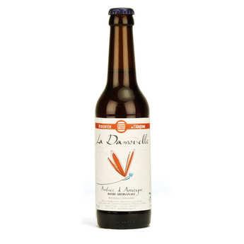 Brasserie de l'Alagnon - La Damoiselle bière ambrée bio 6%