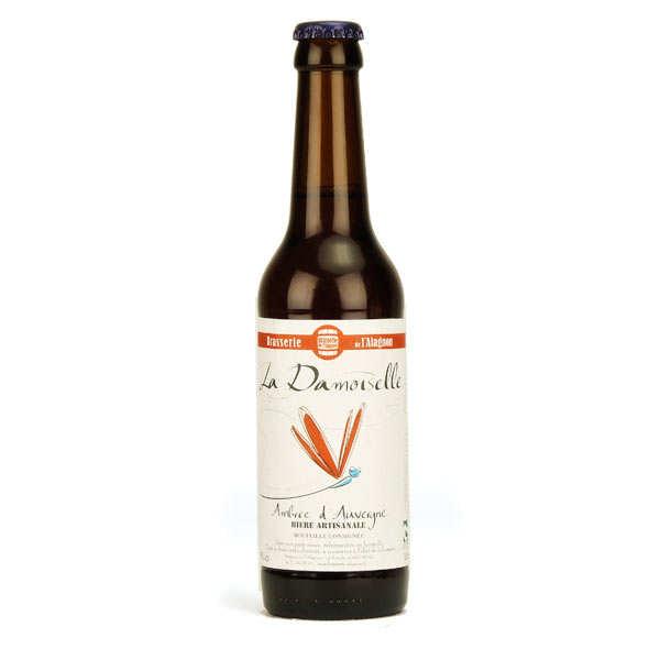 La Damoiselle bière ambrée bio 6%
