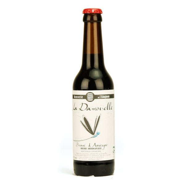 La Damoiselle bière brune bio 4,5%