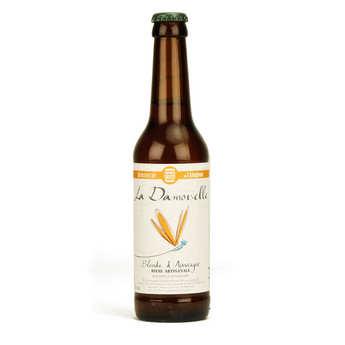 Brasserie de l'Alagnon - La Damoiselle bière blonde bio 5%