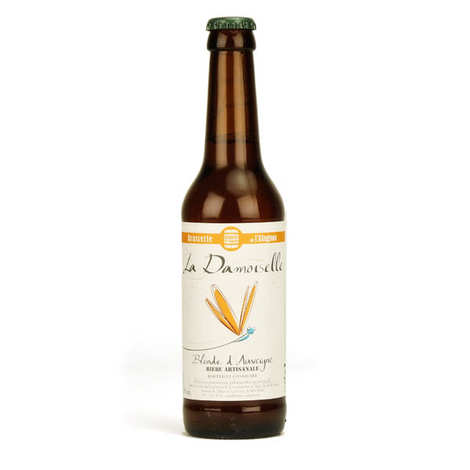 Brasserie de l'Alagnon - La Damoiselle Blond Beer 5%