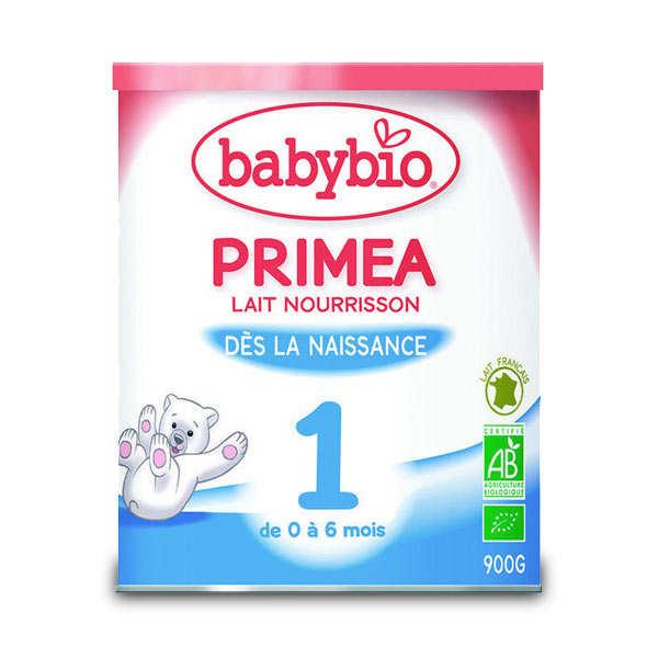 Lait bio nourrisson Priméa
